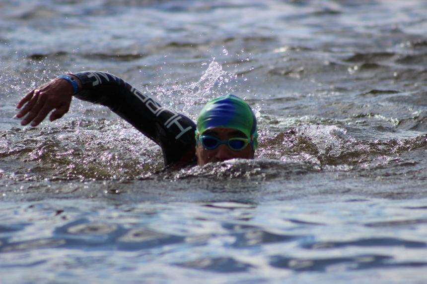 J'ai rarement eu autant de plaisir en natation