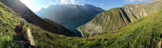 """Un paysage à """"couper le souffle"""" (l'altitude aussi)"""