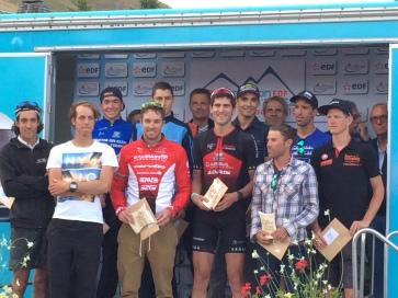 Le podium masculin